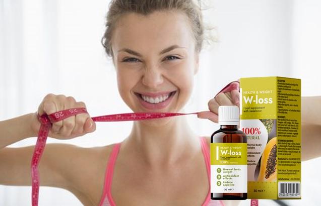 W-Loss gotas, ingredientes, cómo tomarlo, como funciona, efectos secundarios
